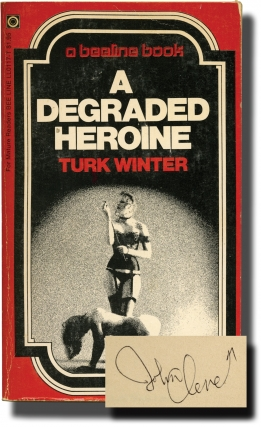 A Degraded Heroine (First Edition, author's personal copy). Andrew J. Offutt, Turk Winter