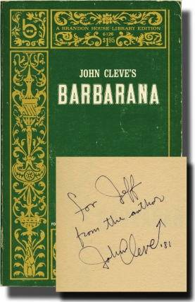 Barbarana (Signed First Edition). Andrew J. Offutt, John Cleve