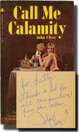 Call Me Calamity (Signed First Edition). Andrew J. Offutt, John Cleve
