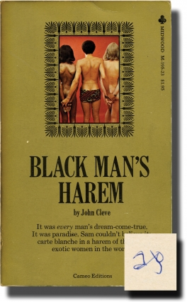 Black Man's Harem (First Edition, author's personal copy). Andrew J. Offutt, John Cleve