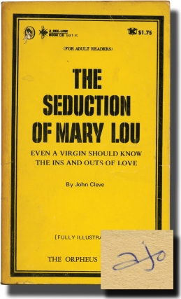 The Seduction of Mary Lou (First Edition, author's personal copy). Andrew J. Offutt, John Cleve