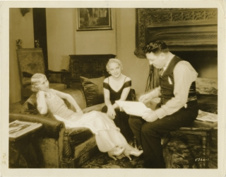 Stepping Out (Original photograph from the set of the 1931 pre-Code film). Charles Reisner,...