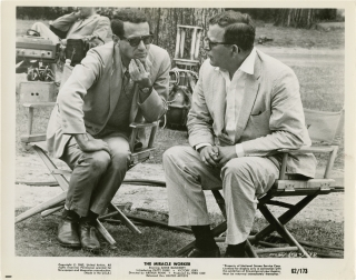 The Miracle Worker (Original photograph from the set of the 1962 film). Arthur Penn, Fred Coe,...