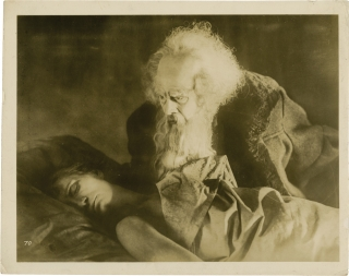 Faust (Original photograph from the 1926 film). F. W. Murnau, Johann Wolfgang Goethe, Hans Kysler...
