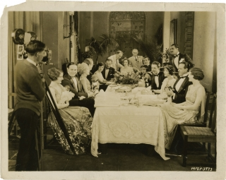 Married Flirts (Original candid photograph from the set of the 1924 film). Robert G. Vignola,...