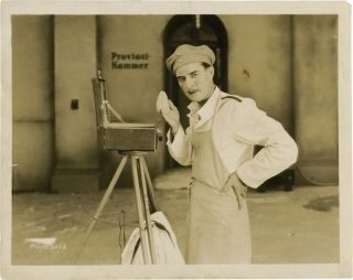 Flesh and the Devil (Original photograph from the set of the 1926 film). Clarence Brown, Hermann...