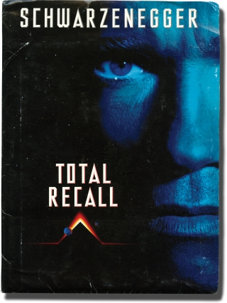 Total Recall (Original Film Press Kit). Paul Verhoeven, Dan O'Bannon Ronald Shusett, Jon Povill, Philip K. Dick, Sharon Stone Arnold Schwarzenegger, Racel Ticotin, director, screenwriters, short story, starring.