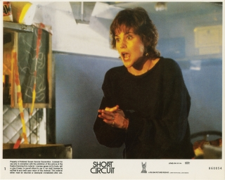 Short Circuit (Collection of 20 original photographs from the 1986 film). John Badham, Brent Maddock S S. Wilson, Steve Gutenberg Ally Sheedy, director, screenwriters, starring.