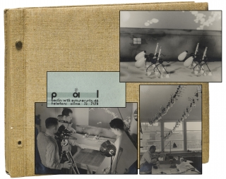 Photo album archive of original photographs from George Pal's Puppetoons studio, circa 1932. George Pal.
