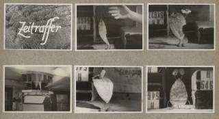 Photo album archive of original photographs from George Pal's Puppetoons studio, circa 1932