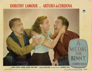 A Medal for Benny (Set of 8 lobby cards for the 1945 film). John Steinbeck, Irving Pichel, Frank...