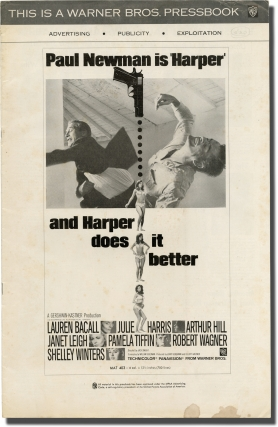 Harper (Original pressbook for the 1966 film). Ross Macdonald, Jack Smight, Paul Newman William...
