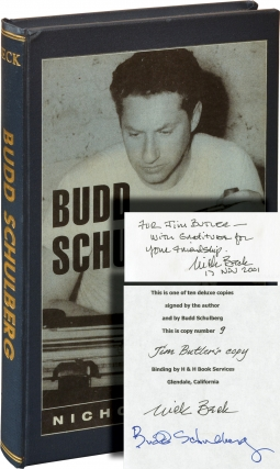 Budd Schulberg: A Bio-Bibliography (First Edition, one of 10 copies signed). Budd Schulberg,...