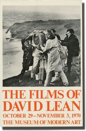 The Films of David Lean (Original Poster for an exhibition). David Lean