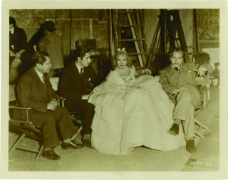 The Scarlet Empress (Original photograph from the set of the 1934 film). Josef Von Sternberg,...