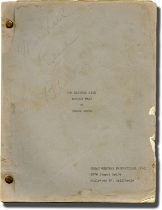The Haunted Mine (Original screenplay for the 1946 film). Derwin Abrahams, Frank H. Young,...