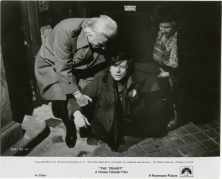 The Tenant (Collection of 3 original photographs from the 1976 film). Roman Polanski, starring...