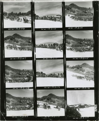 The Way West (Original contact sheet from the 1967 film). Andrew V. McLaglen, A B. Guthrie Jr.,...