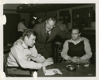 The Men (Original photograph from the 1950 film). Fred Zinnemann, Scotty Welbourne, Carl Foreman,...