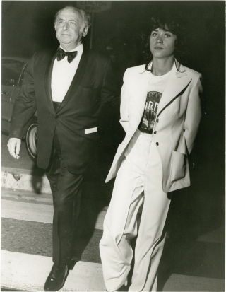 Maria Schneider at the 1975 Cannes Film Festival