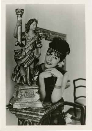 Archive of six original photographs of opera star Anna Moffo. Anna Moffo, Louis Melcancon Tulio...