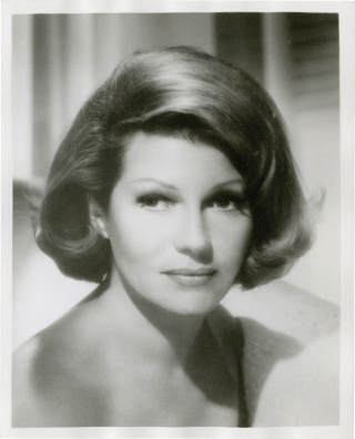 Original double weight photograph of actress Rita Hayworth. Rita Hayworth, John Engstead,...