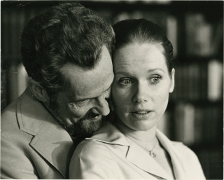 Scenes from a Marriage (Original photograph from the 1974 film). Ingmar Bergman, Arne Carlsson, Erland Josephson Liv Ullmann, writer director, photographer, starring.