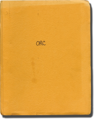 Orca: The Killer Whale (Original treatment script for the 1977 film). Michael Anderson, Sergio...