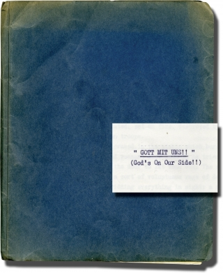 The Fifth Day of Peace [Gott Mit Uns] [God's On Our Side] (Original treatment script for the 1970...
