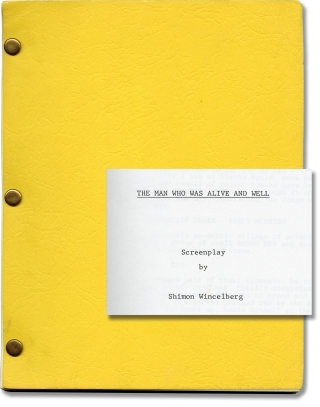 The Man Who Was Alive and Well (Original screenplay for an unproduced film). Shimon Wincelberg,...