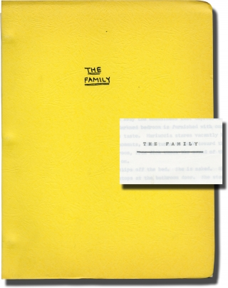 Baciamo le mani [The Family] (Original screenplay for the 1973 film). Vittorio Schiraldi, John...
