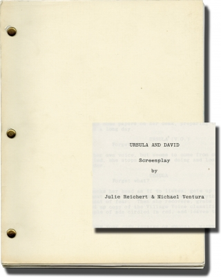 Ursula and David (Original screenplay for an unproduced film). Julie Reichert, Michael Ventura,...