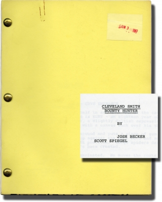 Cleveland Smith: Bounty Hunter (Original screenplay for an unproduced film). Joshua Becker, Scott...