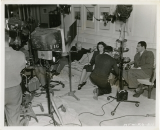 My Favorite Wife (Original photograph of Cary Grant and Gail Patrick from the set of the 1940...