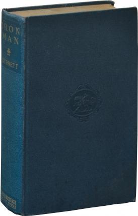 Iron Man (First Edition). W. R. Burnett