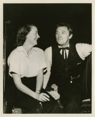 The Night of the Hunter (Original photograph from the set of the 1955 film). Charles Laughton,...