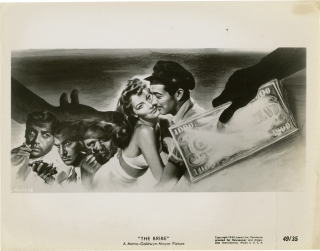 The Bribe (Original photograph for the 1949 film). Robert Z. Leonard, Frederick Nebel, Marguerite...