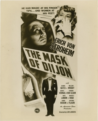 The Mask of Diijon (Original photograph for the 1946 film). Lew Landers, Griffin Jay Arthur St....