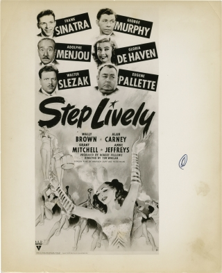 Step Lively (Original photograph from the 1944 film). Fred Hendrickson, Tim Whelan, Peter Milne...