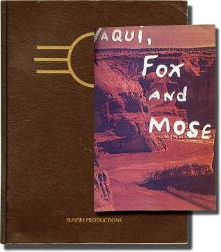 Yaqui, Fox and Mose (Original pre-production package and script for an unproduced film). Terri Crane, screenwriter.
