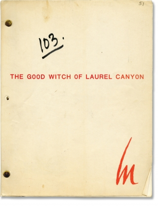 Tucker's Witch [The Good Witch of Laurel Canyon] (Original screenplay for the 1982 television series, pilot episode). Peter H. Hunt, Paul Huson William Bast, Catherine Hicks Tim matheson, Alfre Woodard, Bill Morey, director, screenwriters, starring.