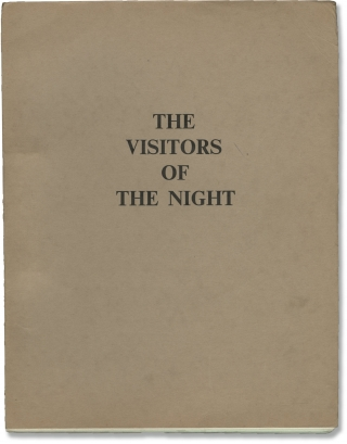 Cold Sweat [The Visitors of the Night] (Original screenplay for the 1970 film). Terence Young,...