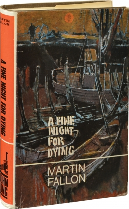 A Fine Night for Dying (First UK Edition). Harry Patterson, Martin Fallon