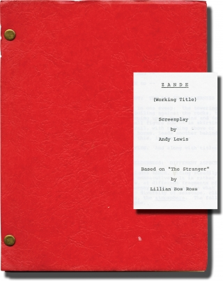 Zandy's Bride [Zande] (Screenplay for the 1974 film). Jan Troell, Andy Lewis Marc Norman, Liv...