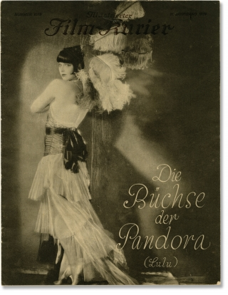Pandora's Box [Die Buchse der Pandora] (Original German program for the 1929 film). George...