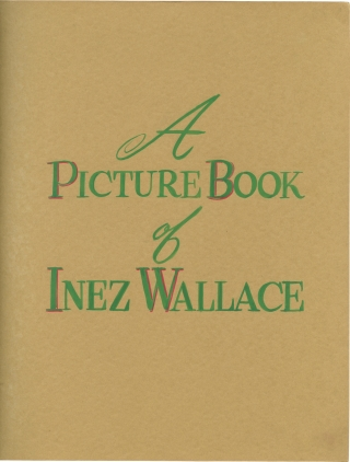 Archive of photographs of Inez Wallace 1940s-1960s