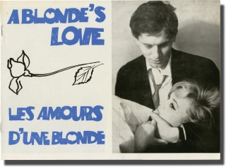 The Loves of a Blonde [Lasky jedne plavovlasky] (Original program for the 1965 film). Milos...