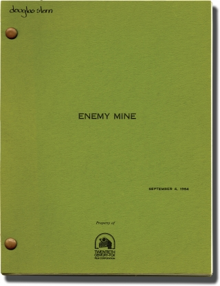 Enemy Mine (Original screenplay for the 1985 film). Wolfgang Petersen, Edward Khmara, Louis...