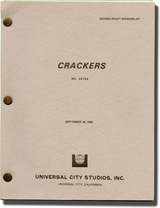 Crackers (Original screenplay for the 1984 film). Louis Malle, Jeffrey Alan Fiskin, Donald...
