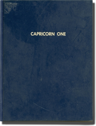 Capricorn One (Original screenplay for the 1978 film). Peter Hyams, James Brolin Elliott Gould,...